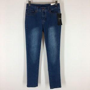 Slim sation women's jeans size 2 straight leg